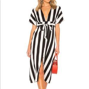 Bardot adley buttoned dress
